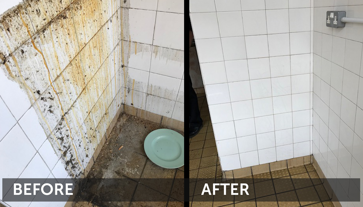 Before and After Cleaning Pictures Cleantec Innovation